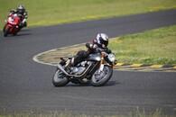 Triumph Thruxton R Rennstrecke