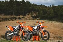 KTM EXC Enduro Palette 2017 - Test