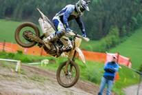 Husqvarna Testtag auf der Motocross Rennstrecke in Weyer