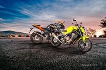 Akrapovič Slip-On-Systeme für die Honda CBR 400/500 R und CB 500 F