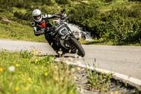 Ducati XDiavel S in den Alpen