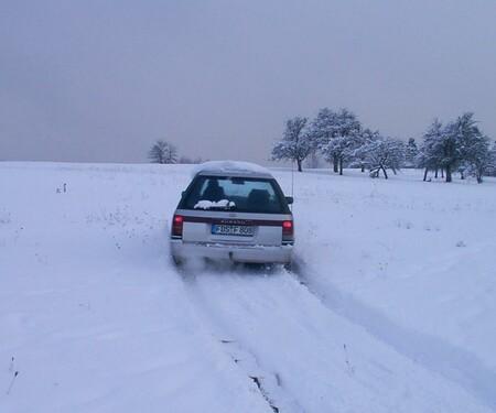 Subaru Allrad Testen im Schnee
