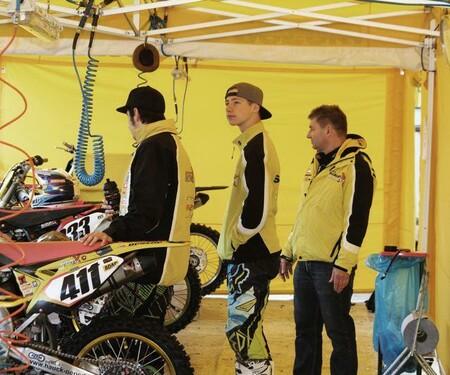 Winter Motocross Frankenbach Team Suzuki Reinecke