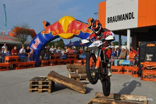 Motorrad Bild: KTM Braumandl Sommerfest