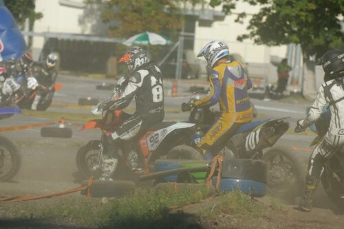 Supermoto Grenzlandcup in Steyr Foto
