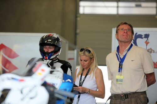 Motorrad Bild: IDM Red Bull Ring 2012 - Fahrerlager Freitag