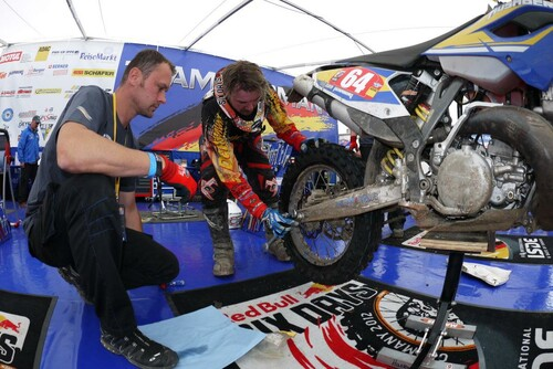 Motorrad Bild: RedBull SIXDAYS 2012 Sachsenring