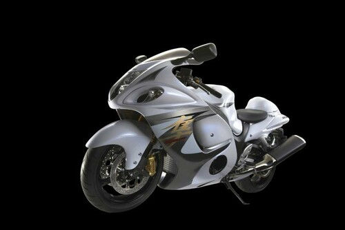 Motorrad Bild: Suzuki GSX-R1300 Hayabusa 2013 Studiofotos