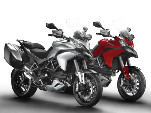 Motorrad Bild: Ducati Multistrada 1200 S, Touring und Pikes Peak