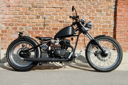 Motorrad Bild: Heist Bobber