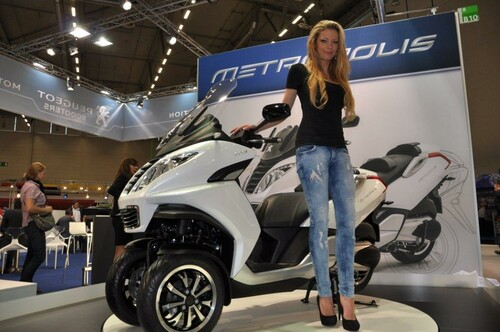 Motorrad Bild: Bikes and Babes auf der Intermot