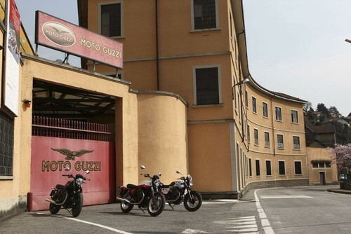 Motorrad Bild: Moto Guzzi V7 Modelle 2013