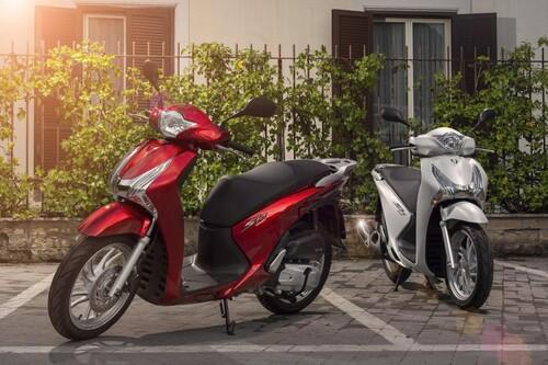 Honda SH150i - Details Foto
