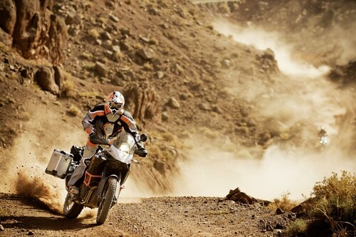 Motorrad Bild: KTM 1190 Adventure R Offroad Action