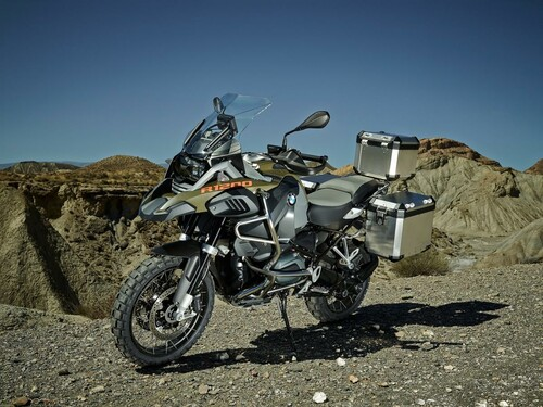 BMW R 1200 GS Adventure Detail Foto