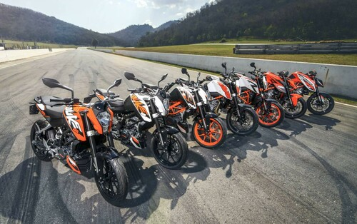 KTM Duke it! Test in Thailand Foto