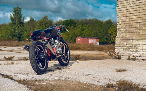Michal's Honda CX500 Cafe Racer Foto