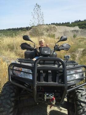 ATV - Ausflug - Geländetrail am 1.8.2015 Foto