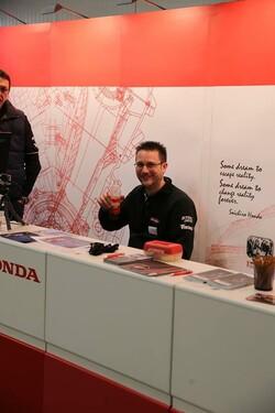 Honda Semmler - Messe Gießen 1. Tag Foto