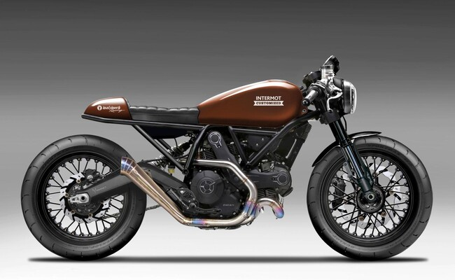 Ducati Sr Exhaust
