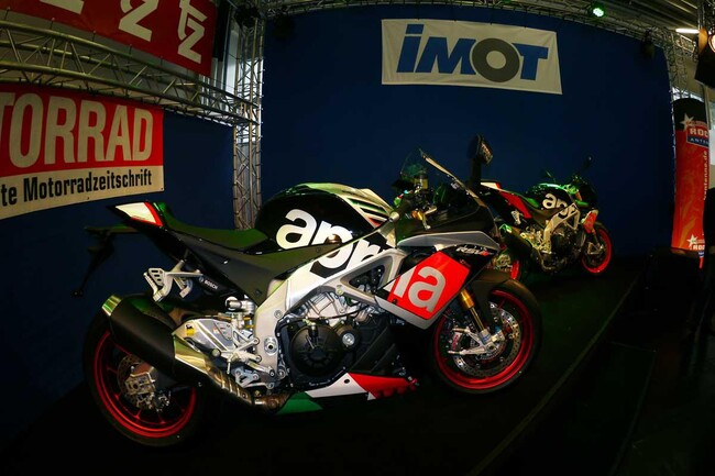 Motorrad Bild: 23. IMOT Motorrad Ausstellung München