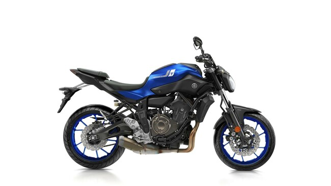 Motorrad Bild: Yamaha Motorrad Farben 2017