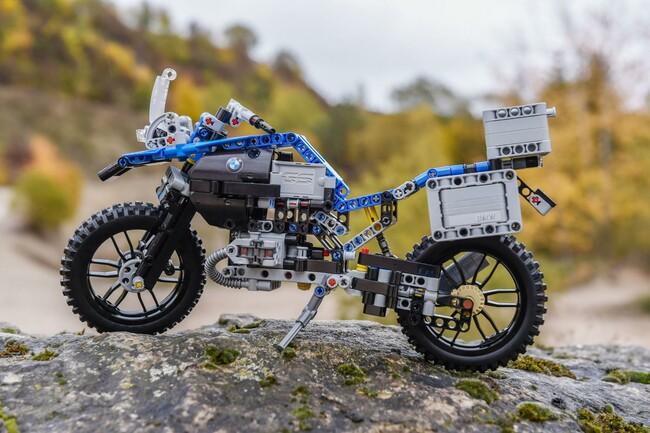 Motorrad Bild: LEGO Technic BMW R 1200 GS