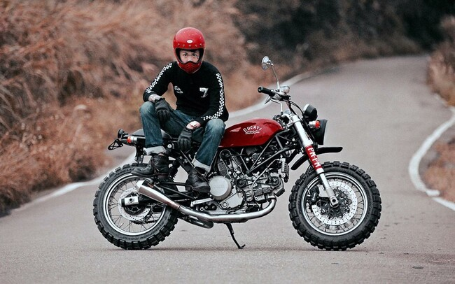 Motorrad Bild: Ducati GT Scrambler