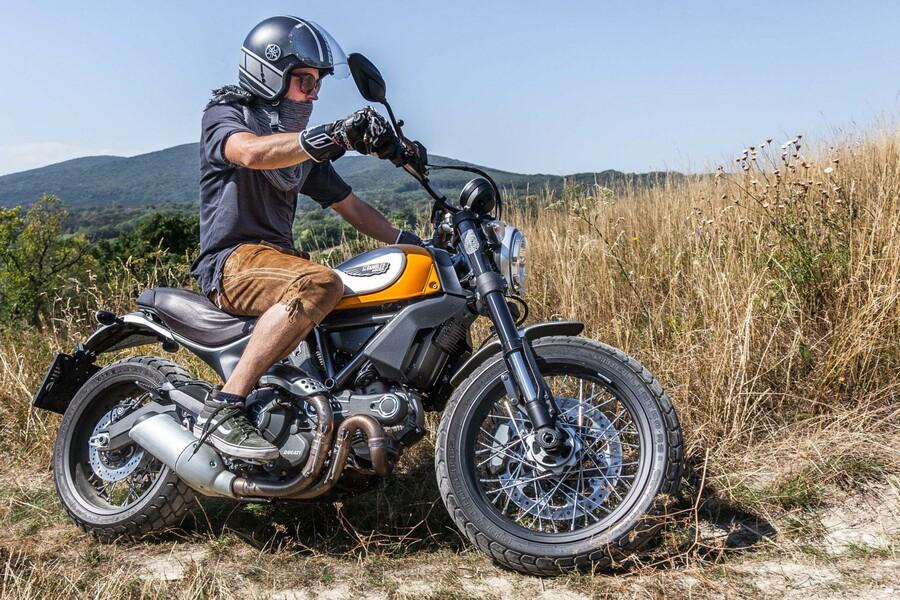 Honda Ducati Scrambler