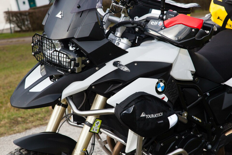 motorrad news touratech zubeh r f r die bmw f 800 gs 2015. Black Bedroom Furniture Sets. Home Design Ideas