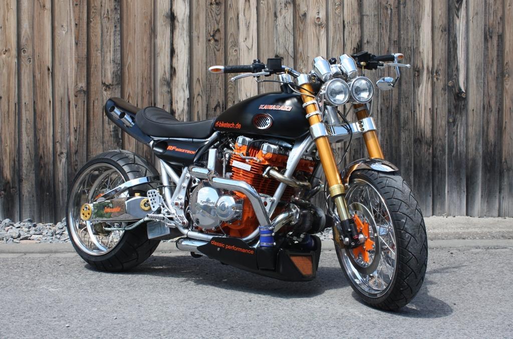 Z1000 Turbo Umbau Von RF Biketech