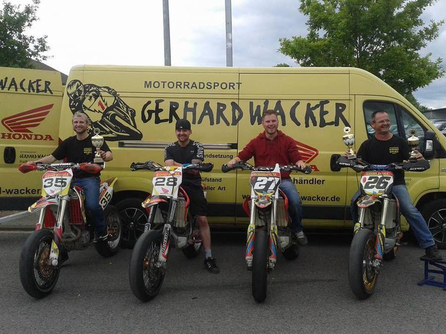 Unternehmensbilder Motorradsport Gerhard Wacker 14