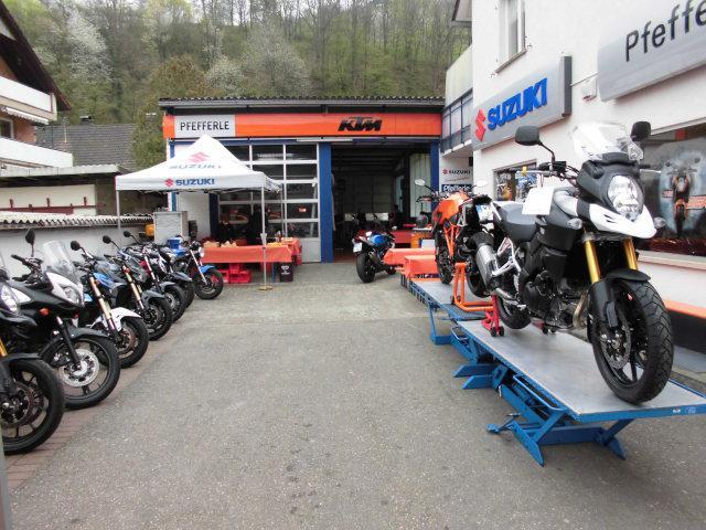 KTM Orange Day und Suzuki Bikersday Frühjahr 2014 Foto