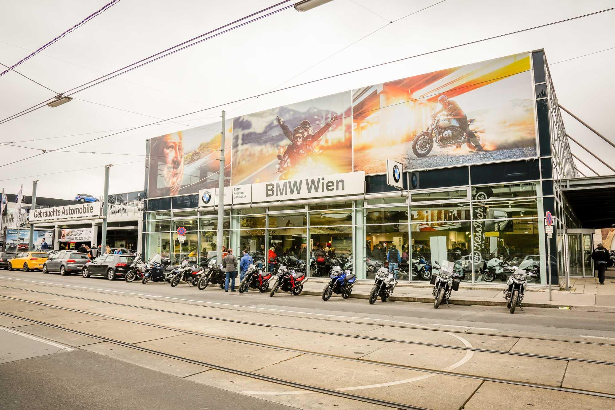 Motorradzentrum Eröffnung 2016 Foto
