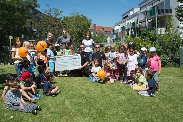 Kindergarten Kinder Spende