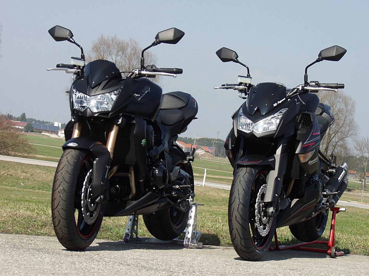 Motorrad Bild Z750R ABS 2012 RSI Bodis Flat Black Edition