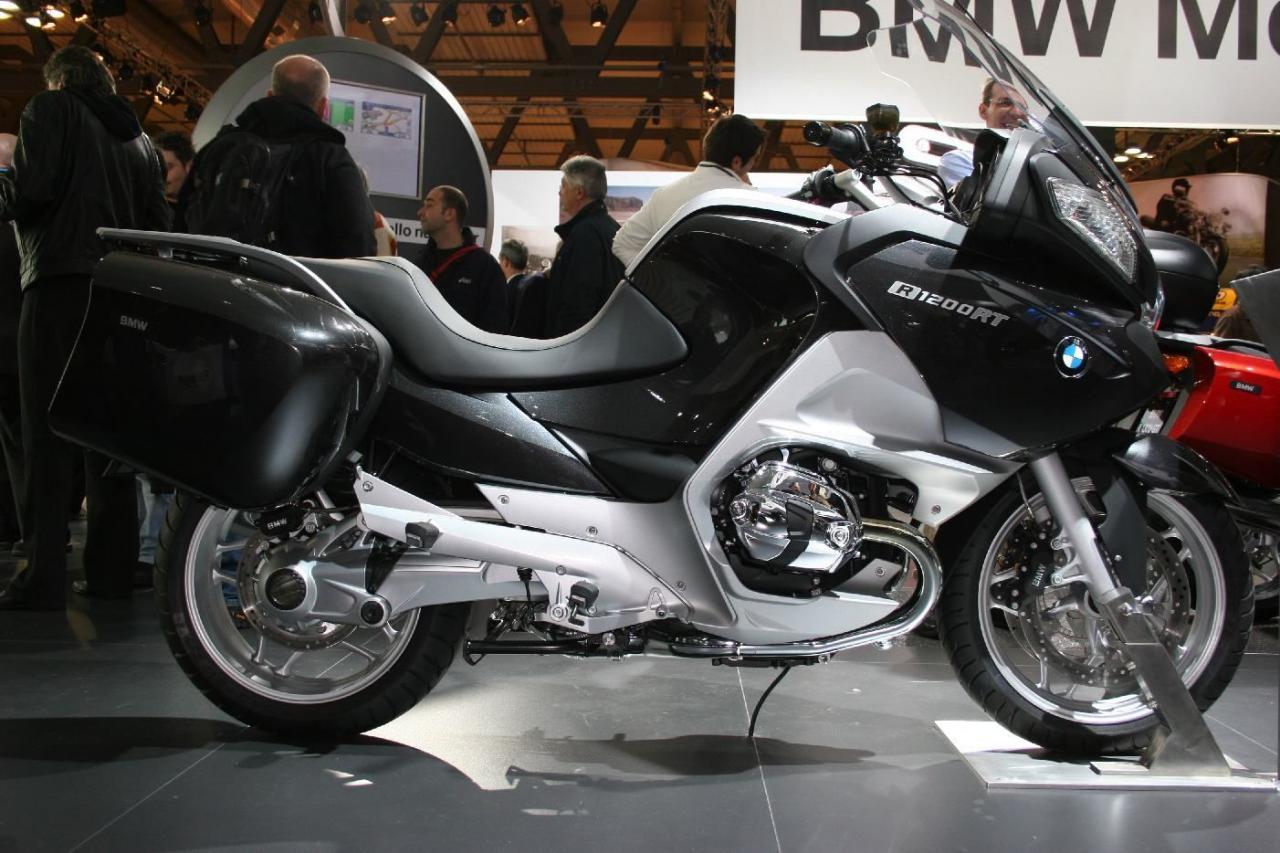 eicma 2009 bmw r1200rt motorrad fotos motorrad bilder. Black Bedroom Furniture Sets. Home Design Ideas