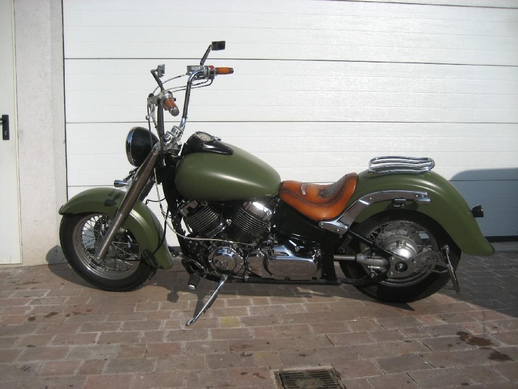 yamaha xvs650 armyape motorrad fotos motorrad bilder. Black Bedroom Furniture Sets. Home Design Ideas