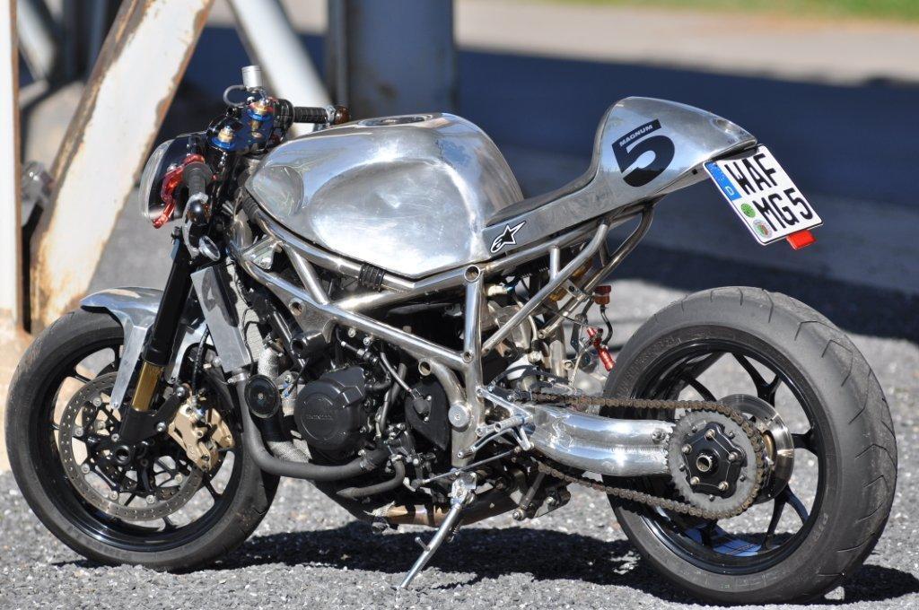 Honda Harris Magnum 5 Motorrad Fotos Amp Motorrad Bilder