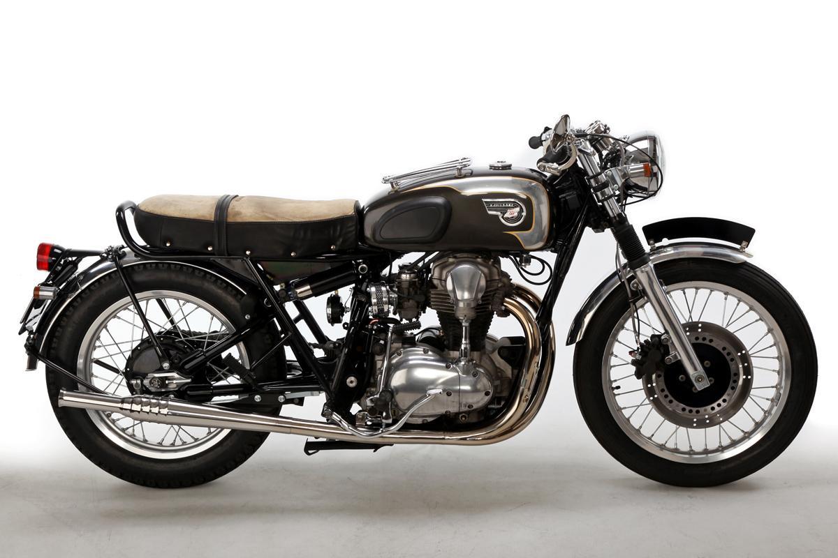 Umbau Motorrock Kawasaki W650 Custom