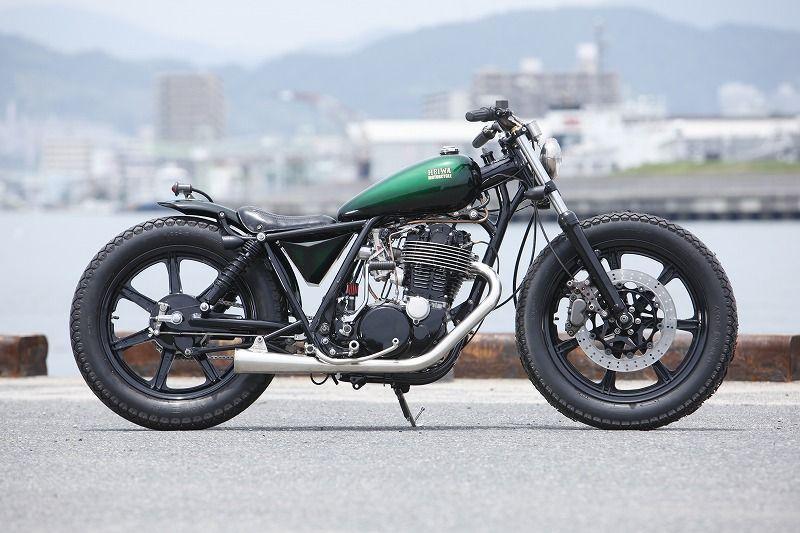 Umbau: Heiwa Yamaha SR400 007 Motorrad Fotos & Motorrad Bilder