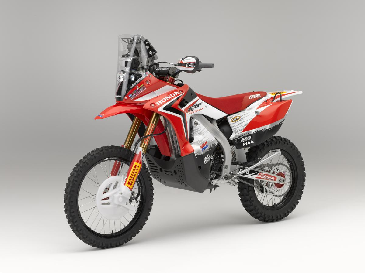 honda crf450 rally motorrad fotos motorrad bilder. Black Bedroom Furniture Sets. Home Design Ideas