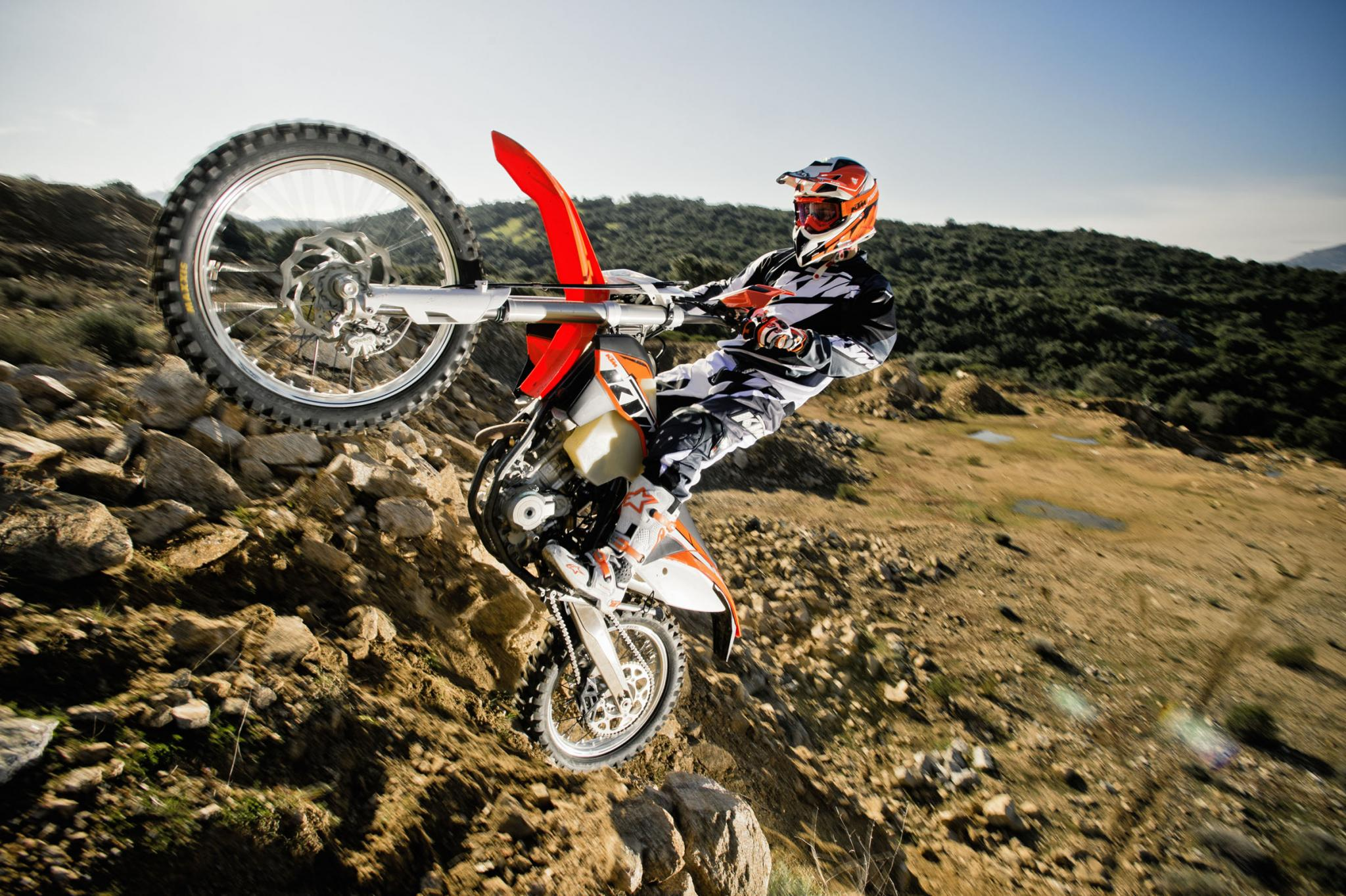 Ktm  Xc F Action Pictures