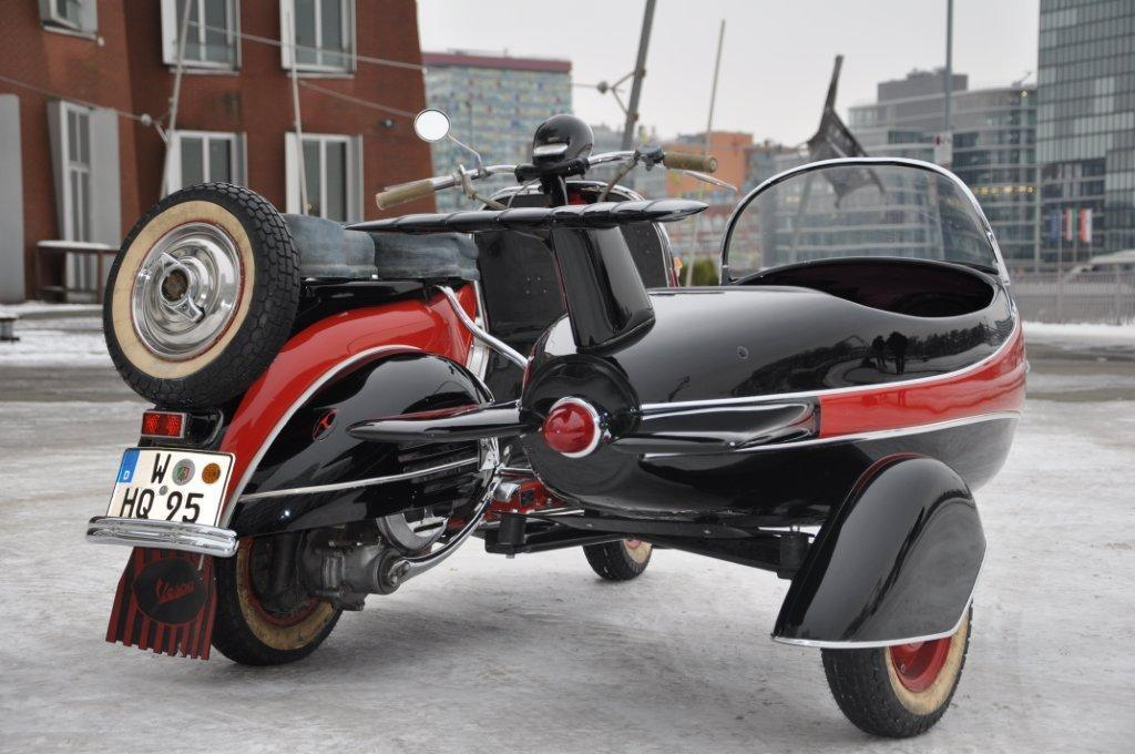 vespa gespann messerschmitt 150 t 1 motorrad fotos. Black Bedroom Furniture Sets. Home Design Ideas