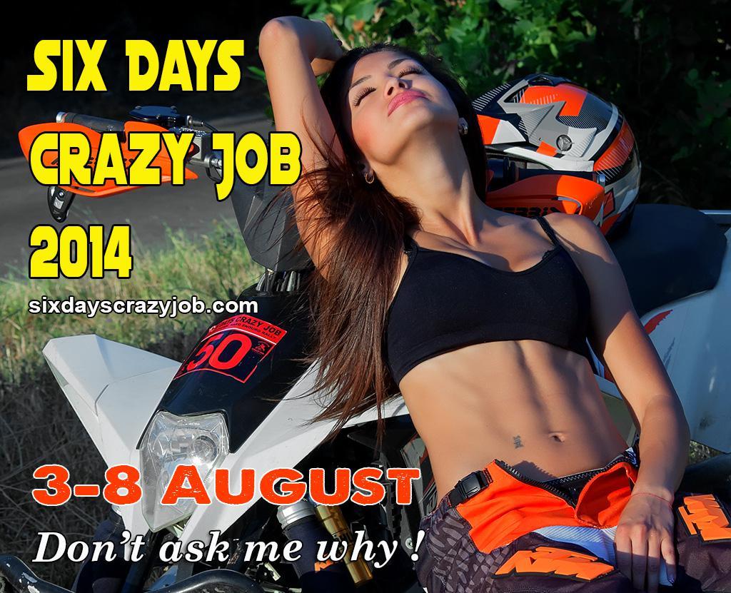 Six Days Bulgarien Plakat