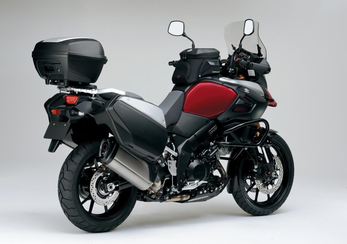 suzuki v strom 1000 zubeh r 2014 motorrad fotos motorrad bilder. Black Bedroom Furniture Sets. Home Design Ideas