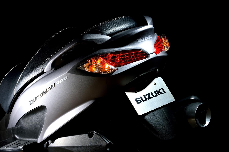 suzuki burgman 125 200
