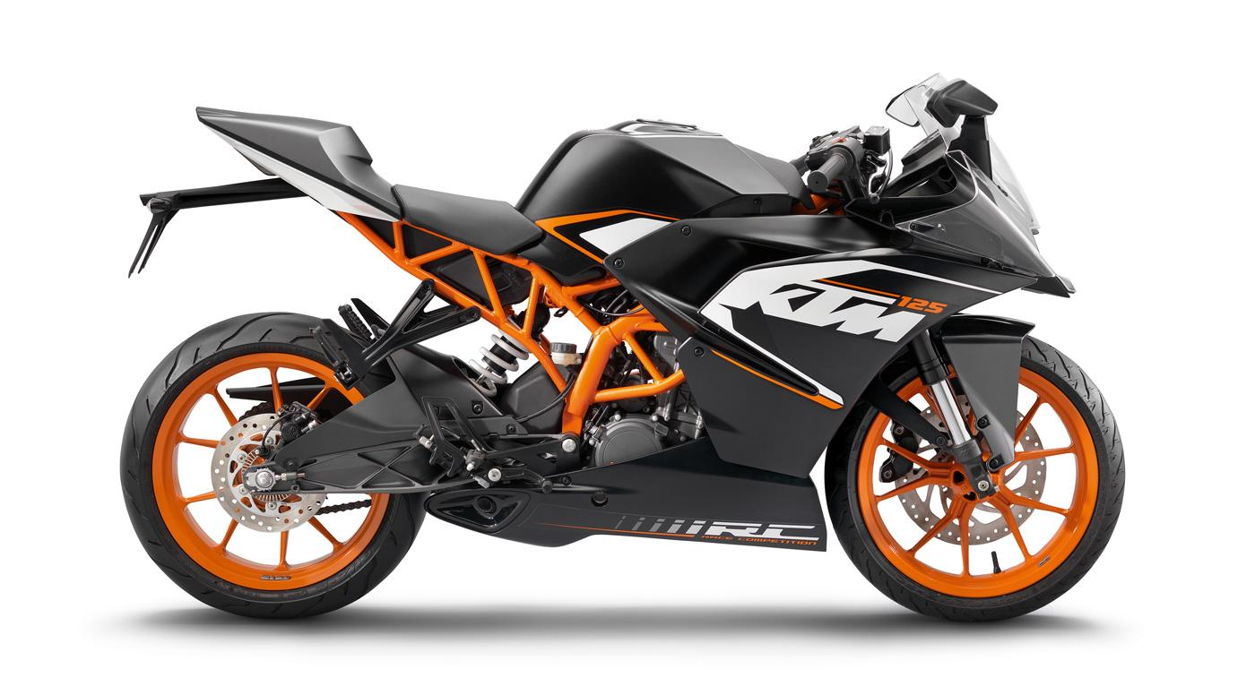 ktm rc 125 neu 2014 modellnews. Black Bedroom Furniture Sets. Home Design Ideas