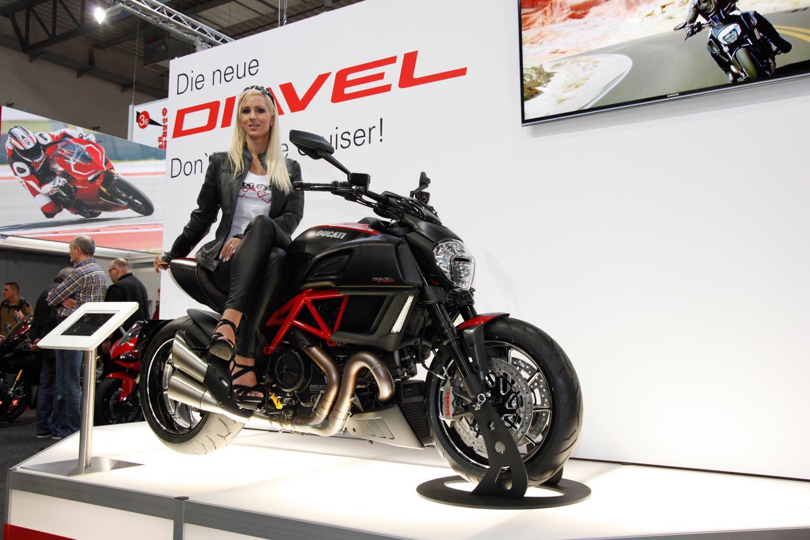 Die neu Uberarbeitete Ducati Diavel