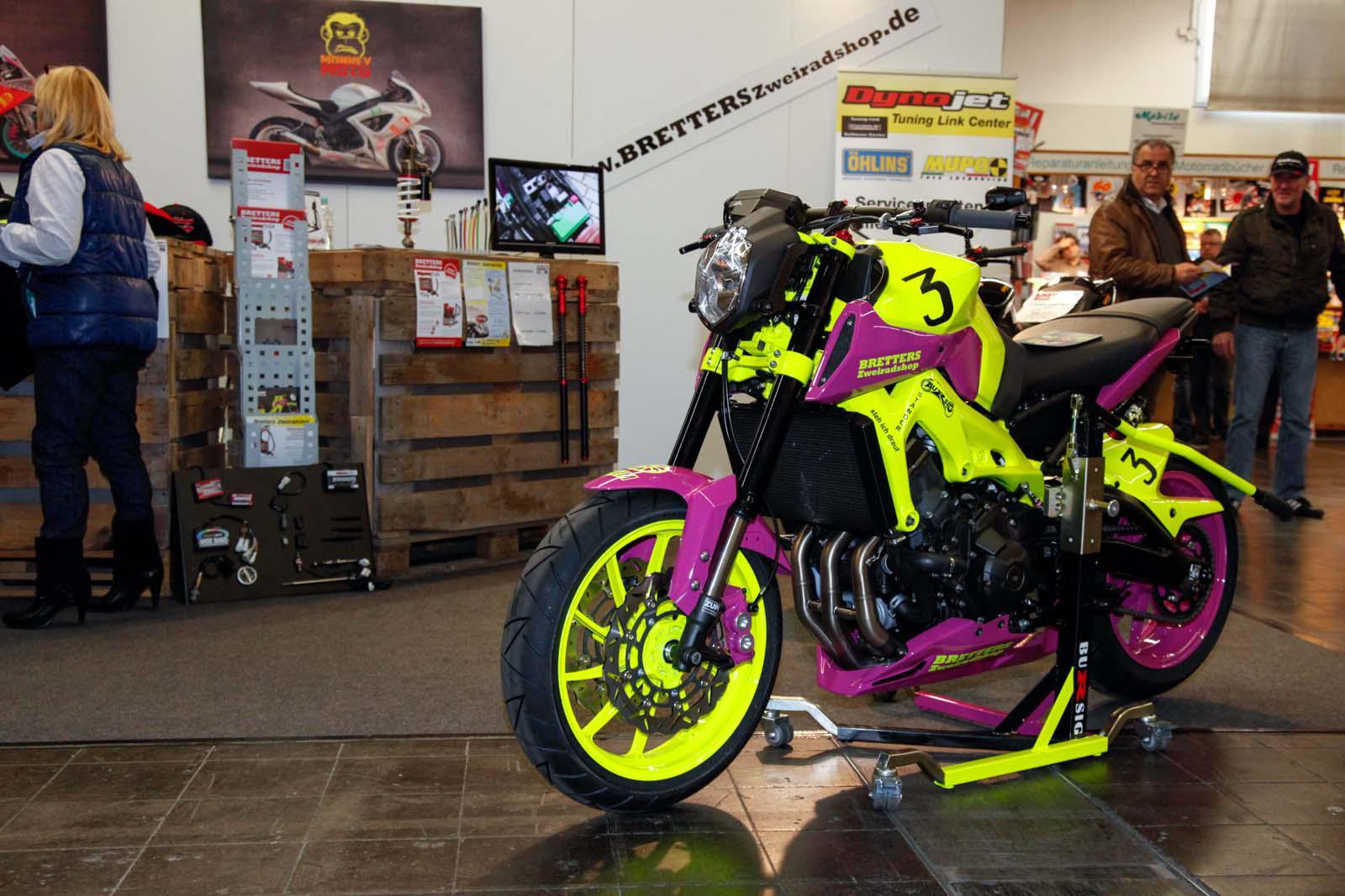 Bretter Yamaha MT 09